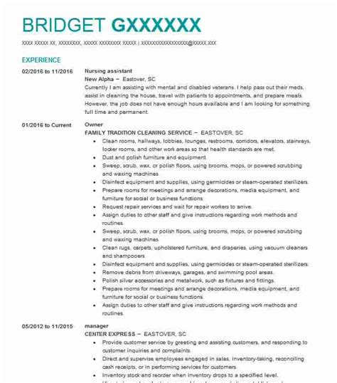2 935 retail resume exles in florence sc livecareer