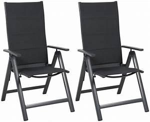 Gartenstühle Alu Klappbar : greemotion gartenstuhl faro 2er set alu textil ~ Lateststills.com Haus und Dekorationen