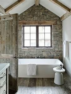 quelles pierres de parement choisir pour votre piece With salle de bain design avec evier exterieur pierre