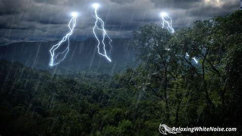 rain forest thunder rain sleep sounds mp relaxing