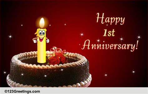st anniversary wishes  milestones ecards greeting cards