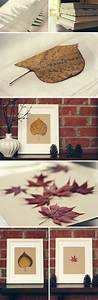 Creative diy project ideas for using fall leaves as