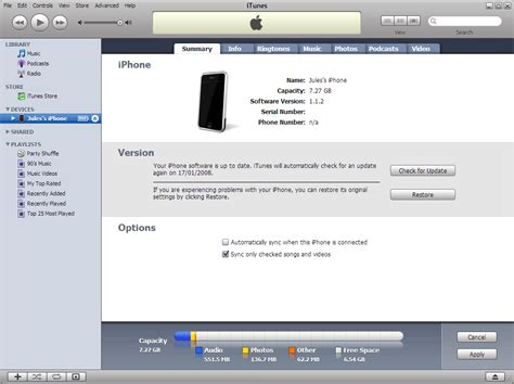 how to connect itunes to iphone itunes the information on the iphone is synced with
