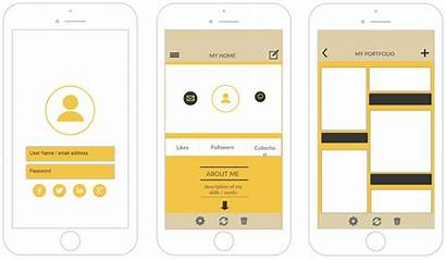 Mockup App Iphone Templates Create Applications Project