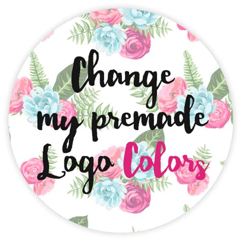 color change shoo change the color to your premade logo