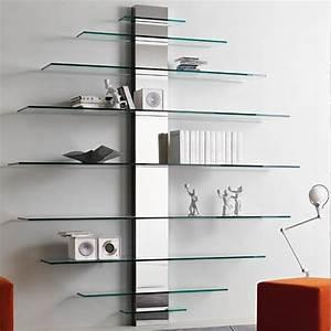 Glass Wall Shelf Modern Glass Wall Shelves Modern Glass