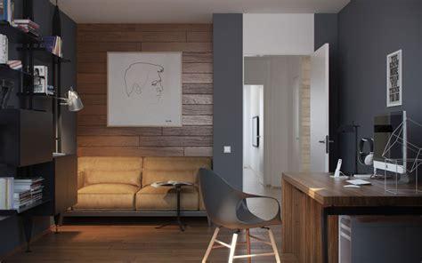 Gray Home Design Ideas by Home Office Interior Design Ideas