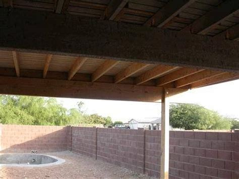 How To Build Covered Porch by How To Build An Inexpensive Cover For A Patio Hunker