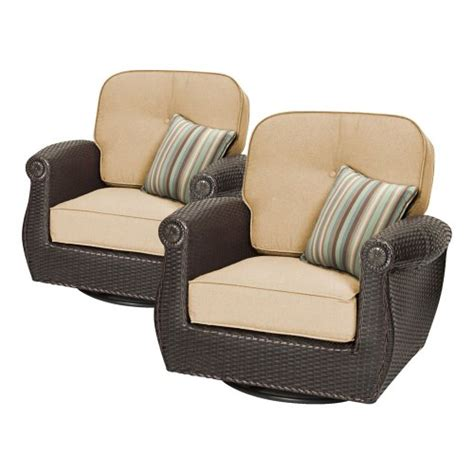 breckenridge swivel rocker 2 patio furniture set