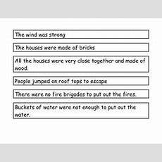 Why Did The Fire Spread Worksheet By Redclare1001  Teaching Resources Tes