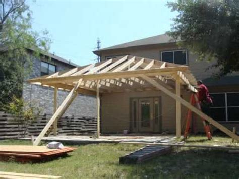 amazing building a roof a patio design free diy