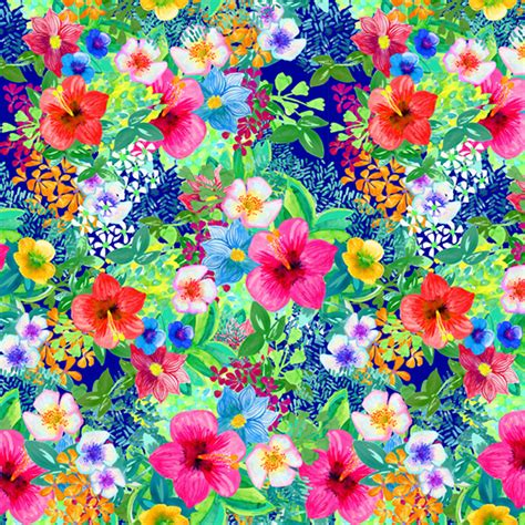 flower wall tropical print wallpaper imgkid com the image kid