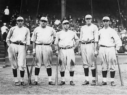 Yankees Row Murderers 1921 Ruth Babe York