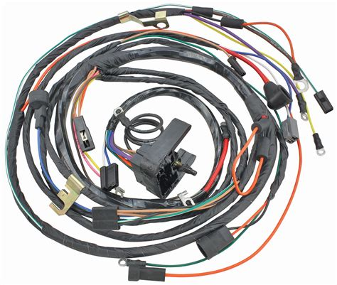 1972 Monte Carlo Wiring Harnes by M H 1972 Monte Carlo Engine Harness 396 454 With