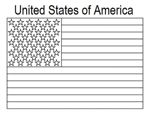 american flag coloring pictures