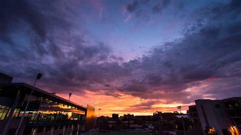 tucson sunset  university  arizona campus youtube