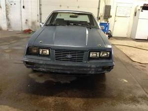 Purchase Used 1984 Ford Mustang Police Interceptor In