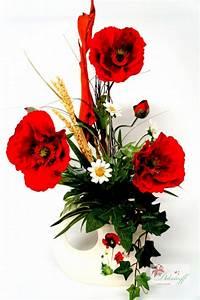 Künstliche Zweige Für Bodenvase : kunstblumen strau mohnblumen wiesenblumen 38 95 ~ Orissabook.com Haus und Dekorationen