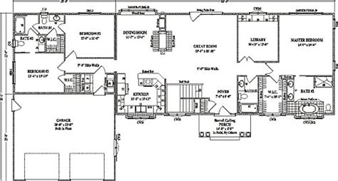 clay center ii wardcraft homes ranch floorplan