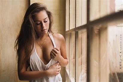 Dasha Kvardakov Stepan Underboob Window Hair Beauty