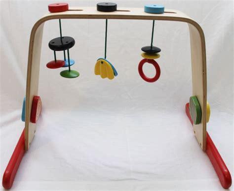 holz spielbogen ikea ikea leka spielbogen spieltrpez baby spielzeug holz bunt center activity ebay