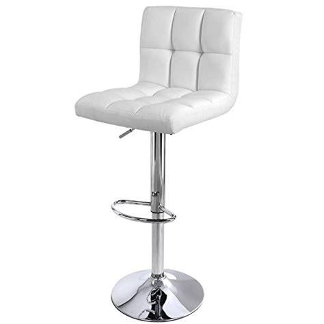 chaise de bar avec dossier songmics chaise et tabouret de bar avec dossier hauteur réglable 95 115 cm