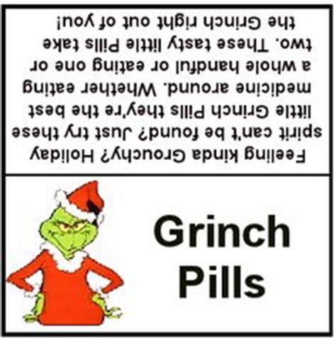 grinch pills  pinterest grinch reindeer noses  gag