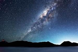 Milky Way Galaxy From Earth Wallpaper HD - Pics about space