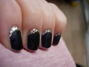 Most beautiful glitter nail art design ideas