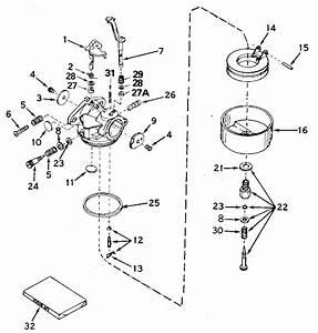 Tecumseh Lawn Mower Carburetor Diagram