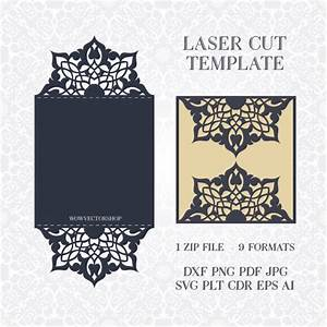 svg pdf dxf png cdr papercutting template With wedding invitations template cdr