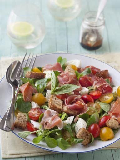 marmiton recette cuisine food inspiration salade mâche jambon de bayonne