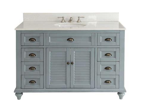 vintage blue cottage glennville bathroom sink vanity