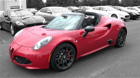 Alfa Romeo Spider Review by 2015 Alfa Romeo 4c Spider Review