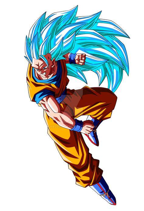 Goku Super SaiyanSSJ3 by HazeelArt on DeviantArt