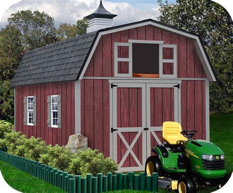 10 X12 Small Wooden Barn