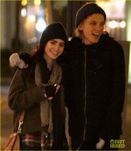 Lily Collins & Jamie Campbell Bower out-and-out in Toronto ...