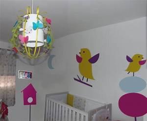 Luminaire Chambre Fille : luminaire enfant cage oiseaux et papillons luminaire enfant lampe casse noisette ~ Preciouscoupons.com Idées de Décoration