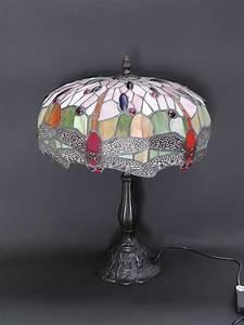 Tischleuchte Ohne Stromkabel : lampe leuchte tischlampe tischleuchte im tiffany stil libelle red h 44cm 5762 lampen tischlampen ~ Markanthonyermac.com Haus und Dekorationen