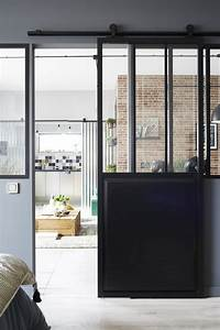 Porte Coulissante Vitree : une porte vitr e coulissante anthracite pour un style ~ Dode.kayakingforconservation.com Idées de Décoration