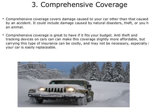 Different Types Of Auto Insurance Coverage