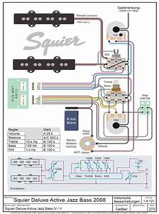Squier Deluxe Passive Switch