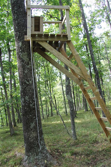 Build A Deer Stand by Trying To Prepare For Next Year Tree Stand Planting