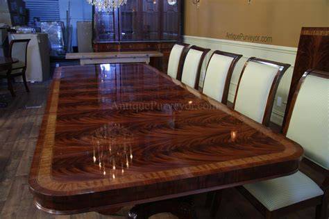 12 person dining room table high end extra large long mahogany dining table seats 12