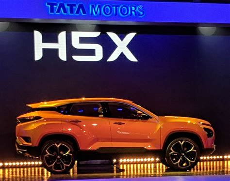 Tata H5x Suv Officially Unveiled Auto Expo 2018 Live