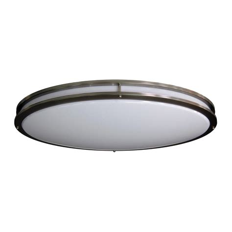 Lowes Led Light Fixtures by Amax Lighting Led Ceiling Fixtures Oval Two Ring Flush