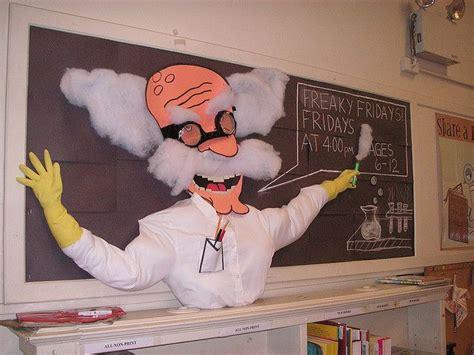 Freaky Scientist Bulletin Board Idea Myclassroomideascom