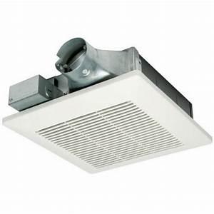 Bathroom fans panasonic 50 100 cfm low profile whisper for Panasonic whisper bathroom fan
