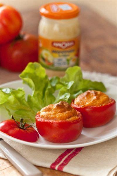 cuisiner la tomate cuisiner la mayonnaise amora à chaud tomates soufflées à
