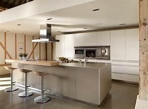 93 idees de deco pour la cuisine moderne design With idee deco cuisine avec cuisine moderne gris clair